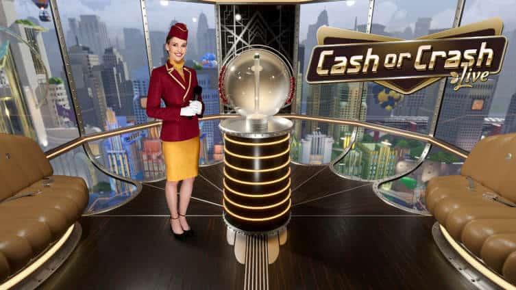evolution cash or crash live