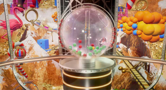 cash or crash bouncing ball machine