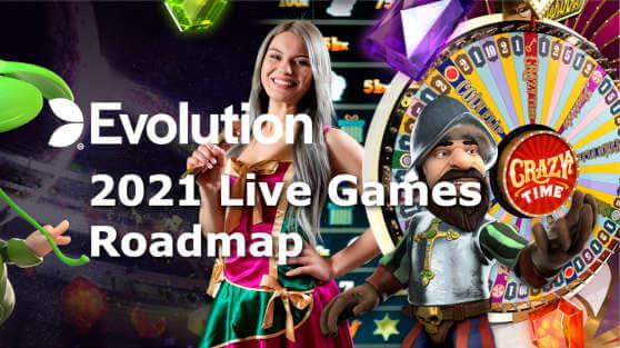 evolution live games roadmap