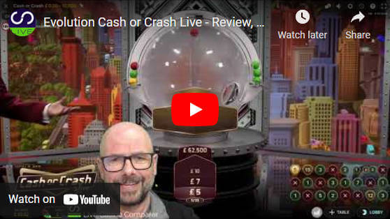 cash or crash live video review