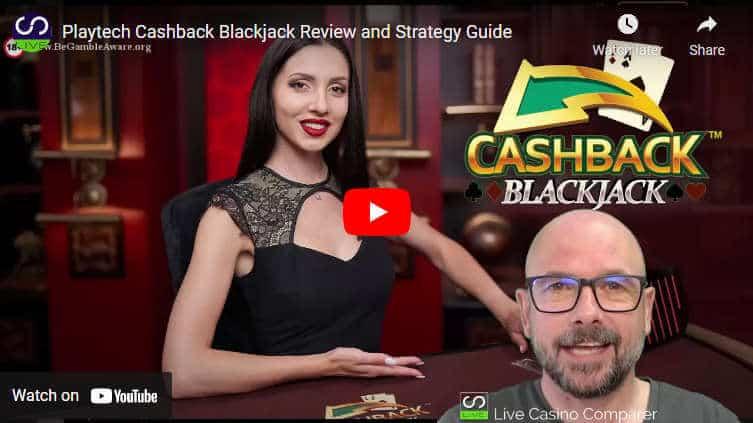 cashback blackjack video review