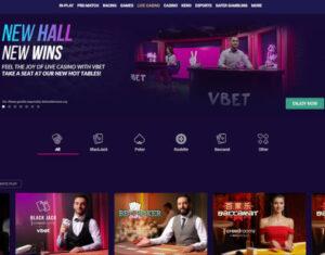 vbet live casino