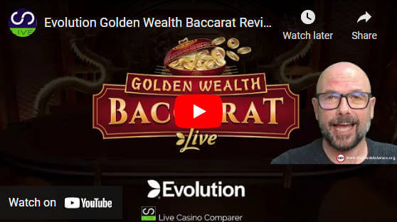 golden wealth baccarat video review