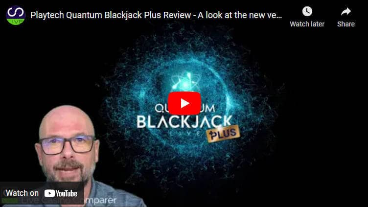 playtech quantum blackjack plus video review