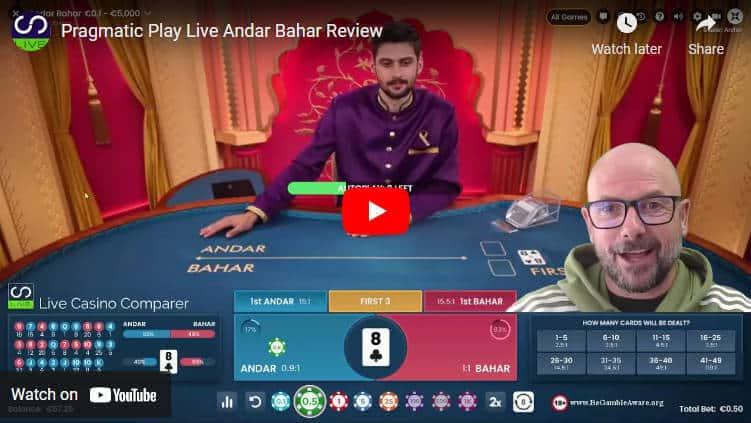 pragmatic play andar bahar video review